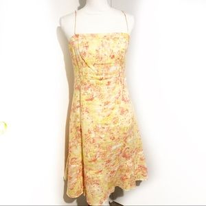 ANN TAYLOR Yellow floral dress